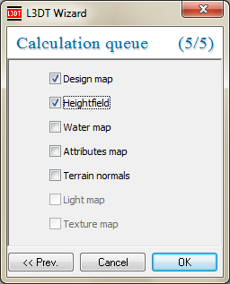 The calculation queue wizard.
